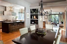 Open Plan Kitchen Design Ideas Kitchen Futuristic Open Plan Kitchen Design With Black
