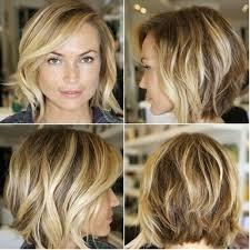 medium length haircut easy to maintain shaggy bob short haircut super cute and easy to maintain click