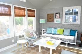 Curtains In Sunroom It U0027s Gettin Hot In Hur So Add Some Bamboo Blinds Young House Love