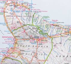 map of hawaii island big island hawaii road map nelles map mapscompany