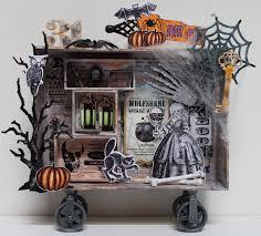 halloween home decor pinterest halloween composition box scrapbook com diy halloween home