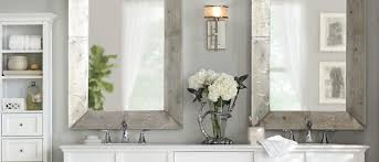 Wall Mirror For Bathroom Wall Mirrors For Bathrooms Home Improvement Ideas