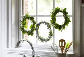 herb wreath functional fresh herb wreath p g everyday p g everyday united