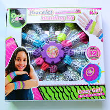 bracelet braid kit images Make your own design bracelet braiding kit diy twist 12 bracelets jpg