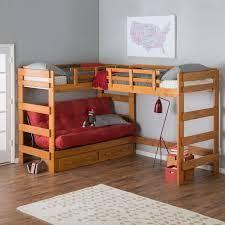 Triple Bunk Bed Designs Bunk  Loft Factory Triple Lindy Bunk - Triple lindy bunk beds