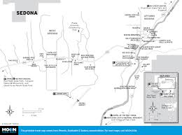 Route 66 Arizona Map by Route 66 Arizona Side Trip Us 89 To Sedona Moon Travel Guides