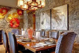 wall art for dining room contemporary stone wall dining room grousedays org