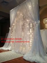 wedding backdrop arch popular wedding arch drapes buy cheap wedding arch drapes lots