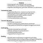 Sample Construction Worker Resume by Download Construction Laborer Resume Haadyaooverbayresort Com