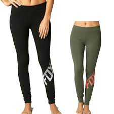 fox motocross clothes fox racing side swiped women u0027s ladies casual lounge pant legging