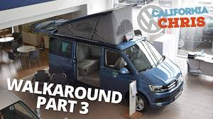 vw california ocean walkaround part 3 camping youtube
