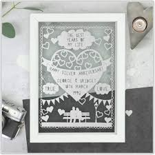25th wedding anniversary gifts 25th wedding anniversary gift ideas for parents india wedding