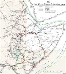 Map Of Eastern Africa by Hyperwar East African And Abyssinian Campaigns