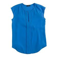 j crew blouses crepe cap sleeve top tops blouses j crew