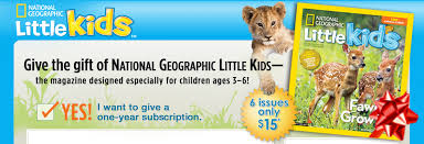 national geographic little kids magazine subscription 6 issues