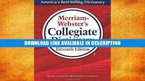 Dsm 5 Desk Reference Ebook by Book Store Online Merriam Webster Collegiate Dictionary 11th