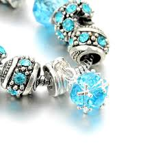 european style charm bracelet images European style authentic tibetan silver blue crystal charm jpg