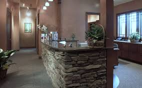 Granite Reception Desk Commercial Dakota Stone And Granite