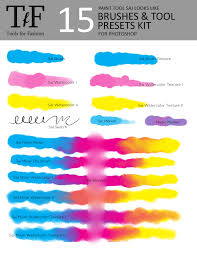 brushes for photoshop style paint tool sai from toolsforfashion on