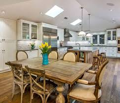Rustic Wood Kitchen Tables - kitchen rustic kitchen table sets simple awesome kitchen table