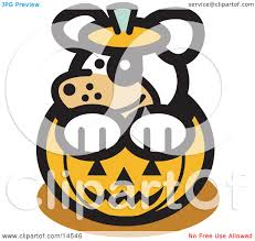 inside clipart halloween pumpkin pencil and in color inside