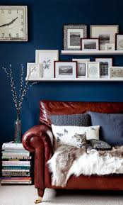 Dark Blue Living Room by 53 Best Blue Living Room Images On Pinterest Blue Living Rooms