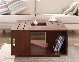 coffee table outstanding crate coffee table ideas elegant brown