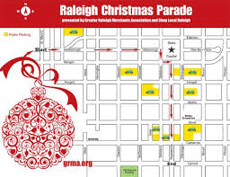 saturday s parade route new raleigh