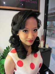 50s makeup 50s makeup and hair perfect 50 s hair and makeup ptetty hair 50s makeup and 50 hair