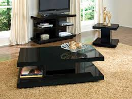 modern line furniture commercial custom made black coffee table