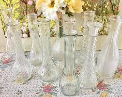 Wedding Centerpiece Vases Clear Glass Vase Etsy