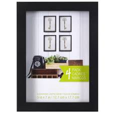 Boite Metal Decorative by 4 Pack Black Shadow Box 5