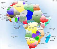 mapa de africa de geografía e historia 1ºeso ies la flota mapa áfrica