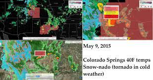 Colorado Weather Map by 5 09 2015 U2014 Snow Nado Cold Tornado Forms Over Colorado Springs Co
