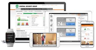 Front Door Video Monitor by Remote Alarm Monitoring Solutions Central Security Group