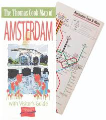 Amsterdam Metro Map by Thomas Cook Holidays Street U0026 Metro Maps Robin Worldwide