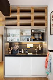 amenagement cuisine petit espace façons d aménager studio 58 idées intéressantes espaces