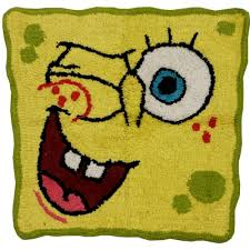 Julius Bath Rug Spongebob Bathroom Rug Bubblin Around Bath Accessories Buy Bath