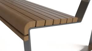bench wood and steel flyingarchitecture