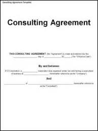 consulting contract template sample free business analyst job