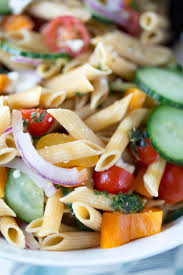 15 minute easy greek pasta salad recipe jessica gavin