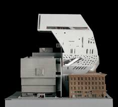 whitney museum extension by oma 08 models pinterest
