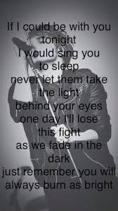 Light In Your Eyes Lyrics The Light Behind Your Eyes Mcr Lyrics If I Could Be With You