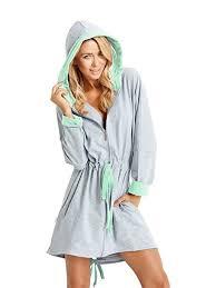 robe de chambre femme coton femme coton peignoir robes de chambre et kimonos jagoda vêtements
