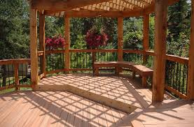 Cedar Deck Bench 17 Awesome Backyard Deck Ideas To Liven Up A Party Remodeling