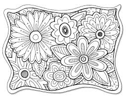 Adult Flower Coloring Pages Hearts And Flowers Adult Coloring Mandala Flowers Coloring Pages