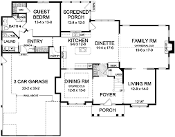 Bedroom House Plans One Story  Bedroom House Floor Plans - 5 bedroom house floor plans