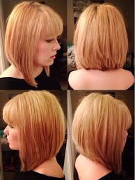 pictures of graduated long bobs long graduated bob with bangs hair color ideas and styles for 2018