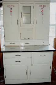 Antique Kitchen Cabinet With Flour Bin 1940 U0027s 50 U0027s Vintage Hoosier Cabinet With Flour Mill 1940s