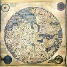 Map Of Africa And Europe by 1450 Map Of The World By Venetian Monk Fra Mauro The Map Depicts